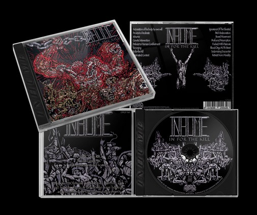 Inhume - In for The Kill CD Re-issue 2020