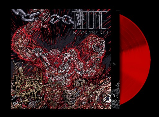 Inhume - In for The Kill LP Red Vinyl 2020