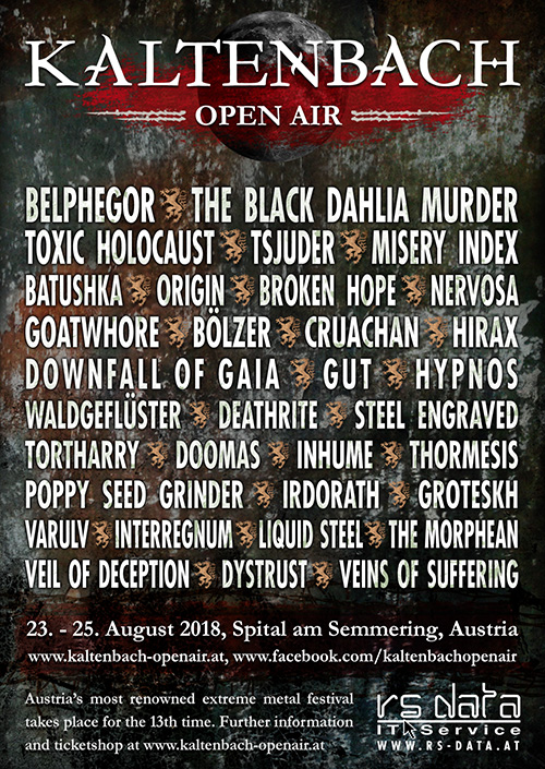 Inhume @ Kaltenbach Open Air 2018